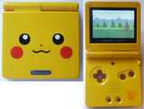 Game Boy Advance SP -- Pikachu Limited Edition (Game Boy Advance)